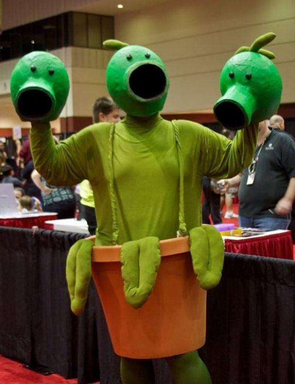 прикольный костюм фото про синтетическую