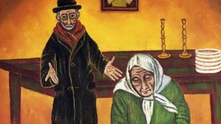 Еврейская притча. Жила-была бедная еврейская семья. Детей было много, а денег мало.