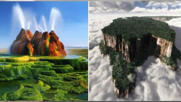 20 невероятных мест, которые выглядят так, будто они — на другой планете
