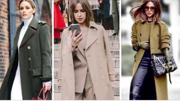 Двубортная модель пальто — стильная классика жанра