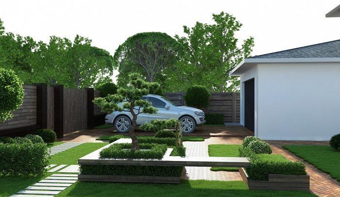Несколько фантастических идей для оформления заднего двора.